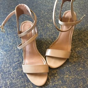 Nude Wedges by Express